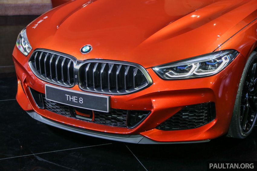 G15 BMW 8 Series launched in Malaysia – sole M850i xDrive variant; 530 PS 4.4L twin-turbo V8; RM1,088,800 Image #933608