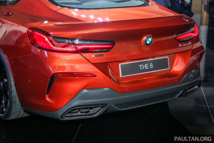 G15 BMW 8 Series launched in Malaysia – sole M850i xDrive variant; 530 PS 4.4L twin-turbo V8; RM1,088,800 Image #933609