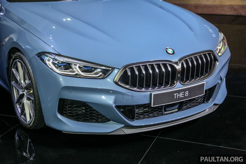 G15 BMW 8 Series launched in Malaysia – sole M850i xDrive variant; 530 PS 4.4L twin-turbo V8; RM1,088,800 Image #933579