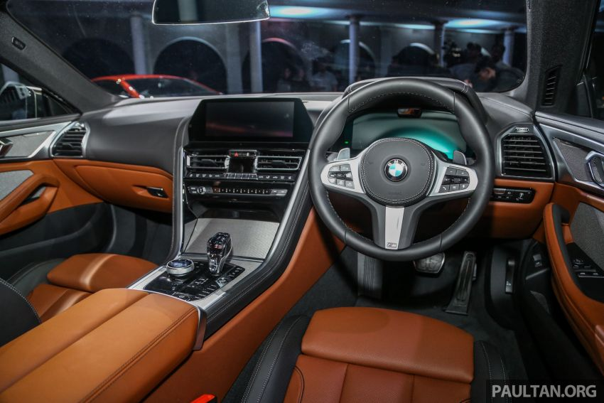 G15 BMW 8 Series launched in Malaysia – sole M850i xDrive variant; 530 PS 4.4L twin-turbo V8; RM1,088,800 Image #933625