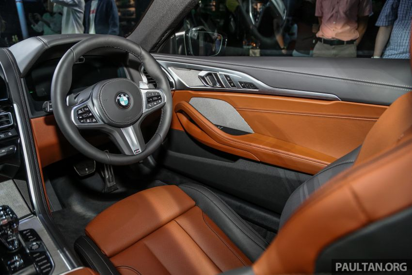 G15 BMW 8 Series launched in Malaysia – sole M850i xDrive variant; 530 PS 4.4L twin-turbo V8; RM1,088,800 Image #933626