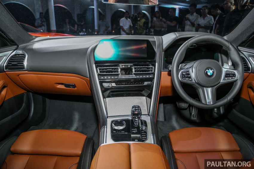 G15 BMW 8 Series launched in Malaysia – sole M850i xDrive variant; 530 PS 4.4L twin-turbo V8; RM1,088,800 Image #933612
