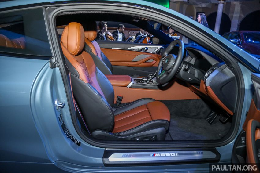 G15 BMW 8 Series launched in Malaysia – sole M850i xDrive variant; 530 PS 4.4L twin-turbo V8; RM1,088,800 Image #933631