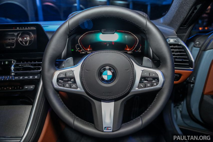 G15 BMW 8 Series launched in Malaysia – sole M850i xDrive variant; 530 PS 4.4L twin-turbo V8; RM1,088,800 Image #933613