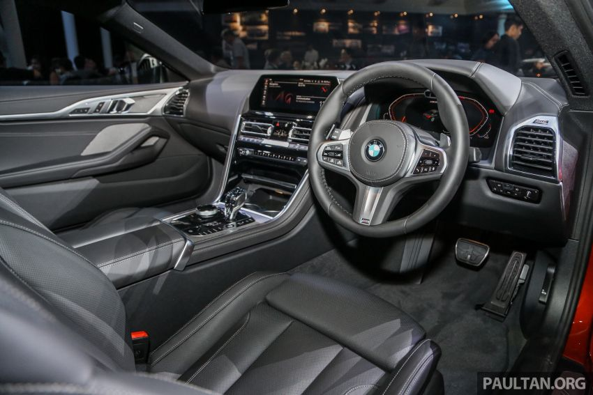 G15 BMW 8 Series launched in Malaysia – sole M850i xDrive variant; 530 PS 4.4L twin-turbo V8; RM1,088,800 Image #933642