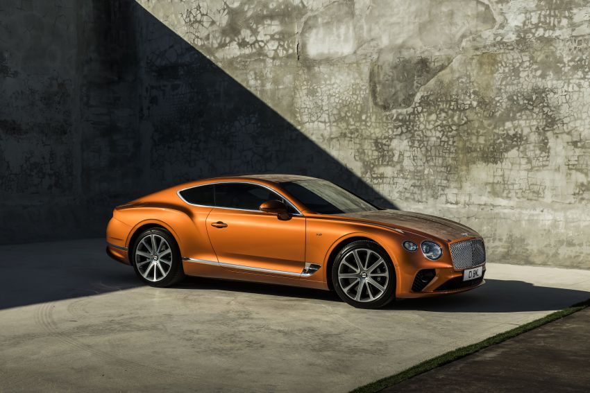 Bentley Continental GT V8 models unveiled – 542 hp Image #936227