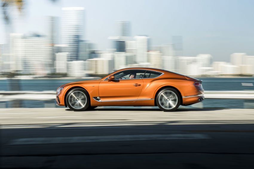 Bentley Continental GT V8 models unveiled – 542 hp Image #936218