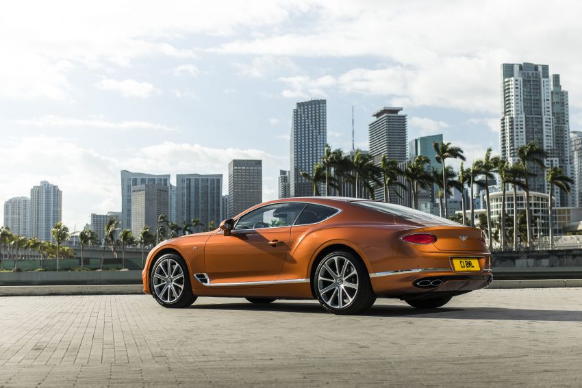 Bentley Continental GT V8 models unveiled – 542 hp Image #936221