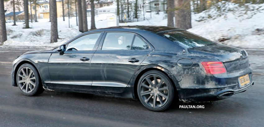 SPIED: Bentley Flying Spur PHEV seen testing again Image #938749