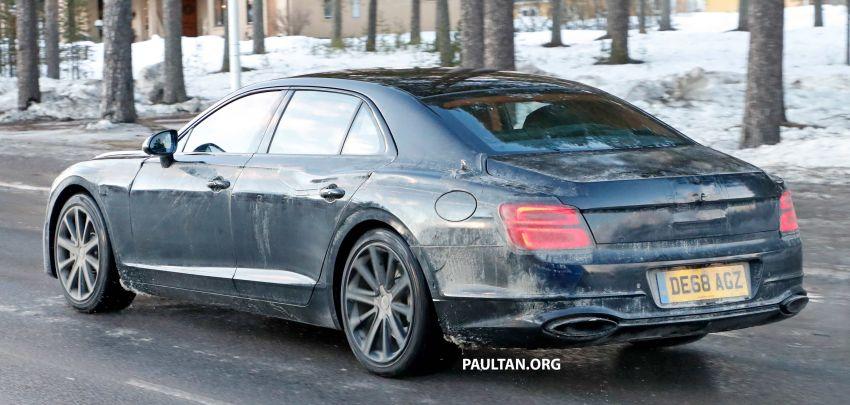 SPIED: Bentley Flying Spur PHEV seen testing again Image #938750