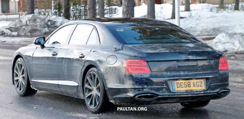 SPIED: Bentley Flying Spur PHEV seen testing again Image #938751