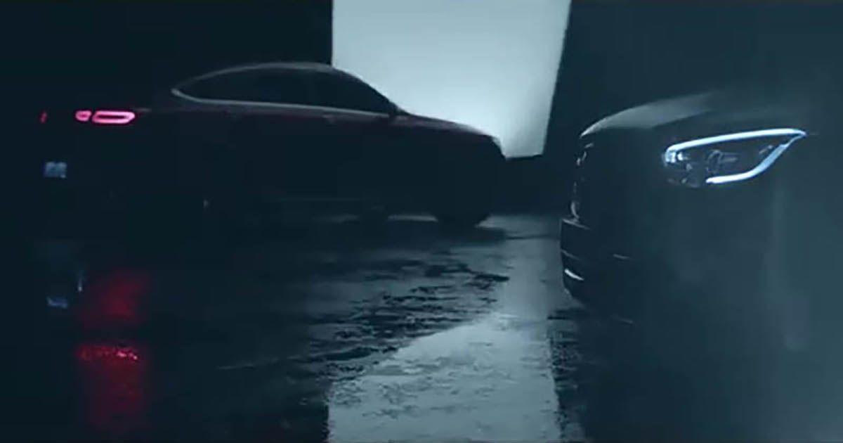 c253 mercedes benz glc coupe facelift gets teased. Black Bedroom Furniture Sets. Home Design Ideas