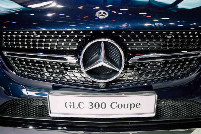 C253 Mercedes-Benz GLC300 4Matic Coupe debuts in Malaysia – CKD; estimated price from RM399,888 Image #937730