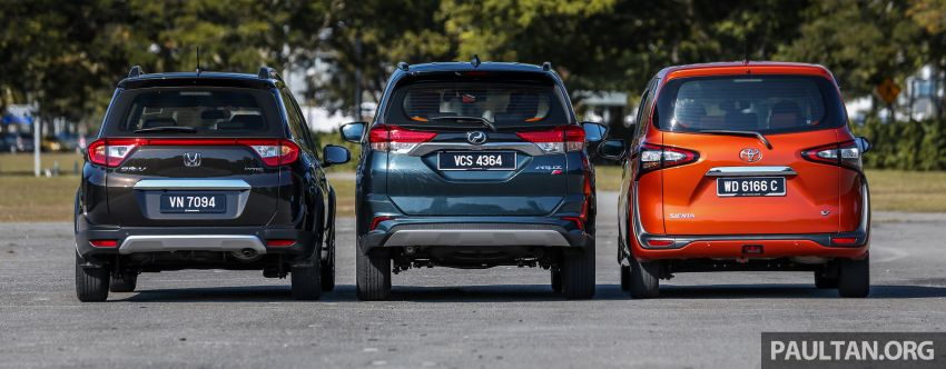Driven Web Series 2019: affordable seven-seaters – new Perodua Aruz vs Honda BR-V vs Toyota Sienta Image #928583