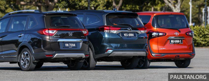 Driven Web Series 2019: affordable seven-seaters – new Perodua Aruz vs Honda BR-V vs Toyota Sienta Image #928585