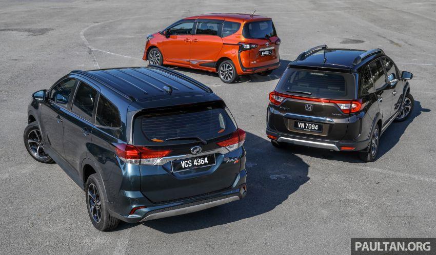 Driven Web Series 2019: affordable seven-seaters – new Perodua Aruz vs Honda BR-V vs Toyota Sienta Image #928574