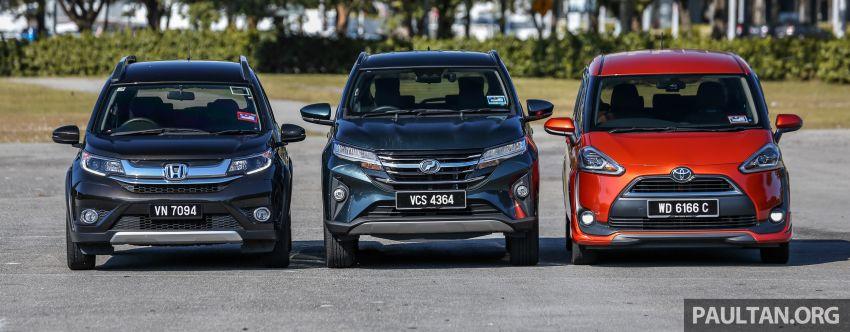 Driven Web Series 2019: affordable seven-seaters – new Perodua Aruz vs Honda BR-V vs Toyota Sienta Image #928575