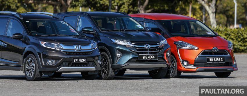 Driven Web Series 2019: affordable seven-seaters – new Perodua Aruz vs Honda BR-V vs Toyota Sienta Image #928579
