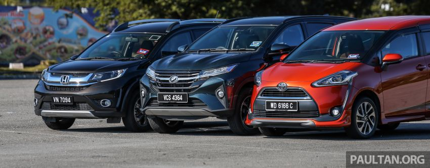 Driven Web Series 2019: affordable seven-seaters – new Perodua Aruz vs Honda BR-V vs Toyota Sienta Image #928580