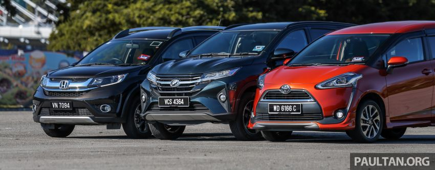 Driven Web Series 2019: affordable seven-seaters – new Perodua Aruz vs Honda BR-V vs Toyota Sienta Image #928581