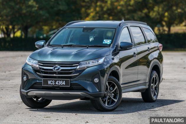 Perodua Aruz waiting period reduced, now fr 1 month