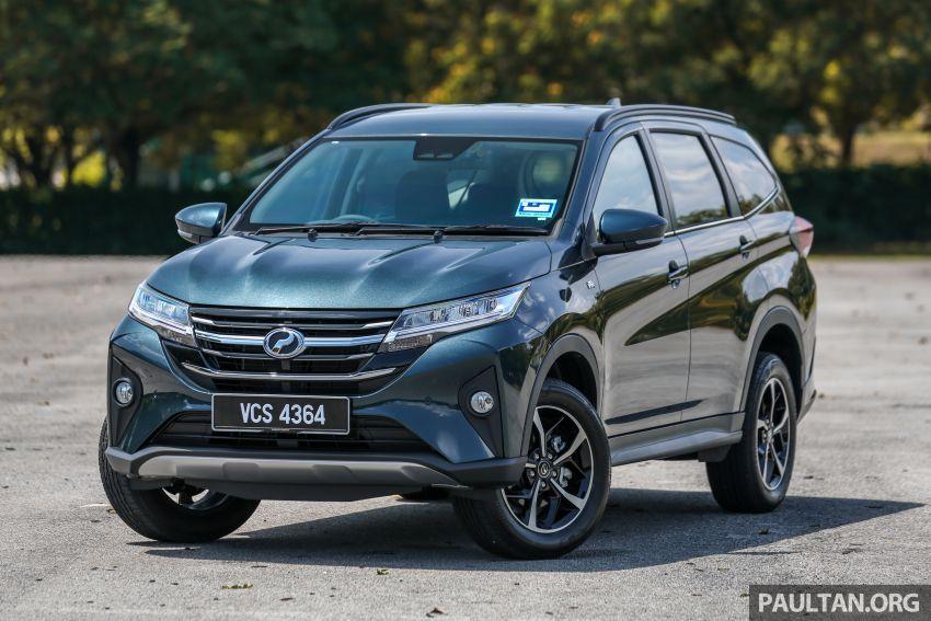 Driven Web Series 2019: affordable seven-seaters – new Perodua Aruz vs Honda BR-V vs Toyota Sienta Image #928613
