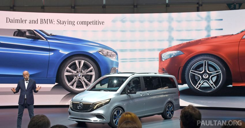 BMW and Daimler said to be in talks to develop compact/mid-sized cars, electric vehicles together Image #935832