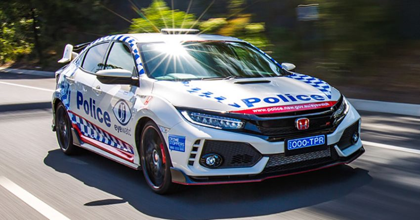 FK8 Honda Civic Type R joins Australian police force Image #934587