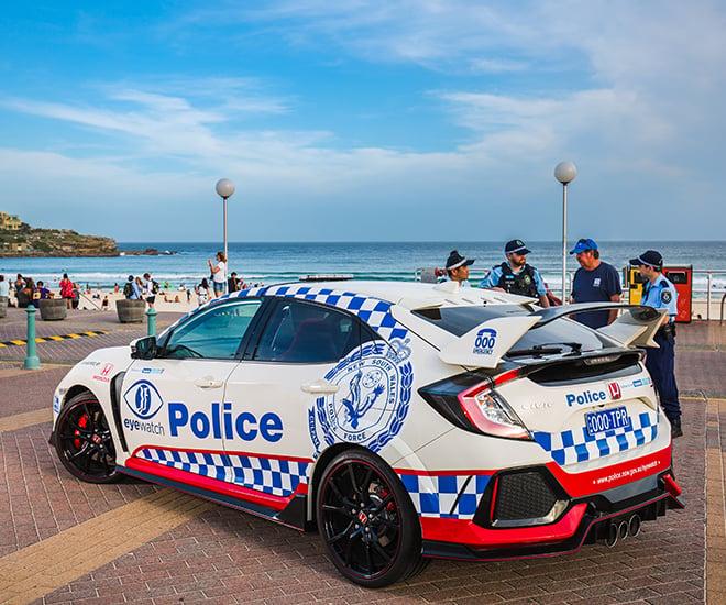 FK8 Honda Civic Type R joins Australian police force Image #934588