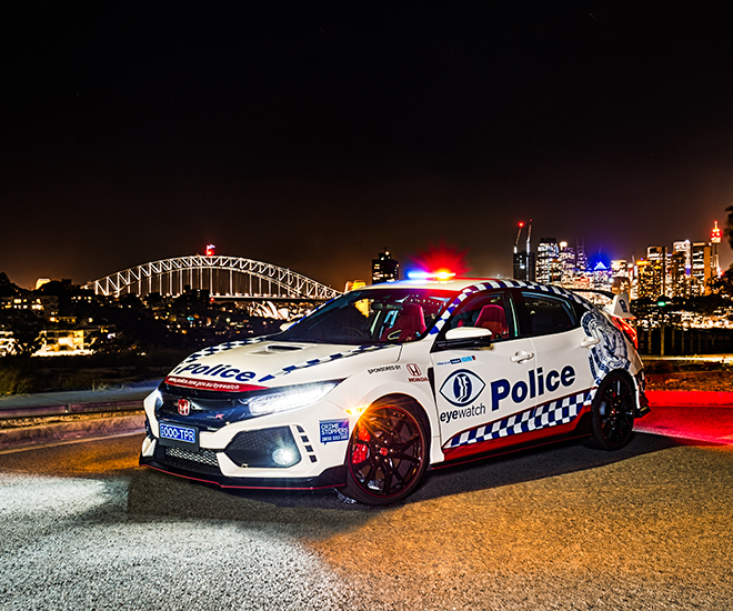 FK8 Honda Civic Type R joins Australian police force Image #934589