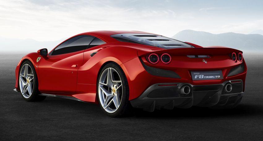 Ferrari F8 Tributo – pengganti 488 GTB didedahkan Image #928093