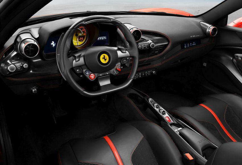Ferrari F8 Tributo – pengganti 488 GTB didedahkan Image #928096