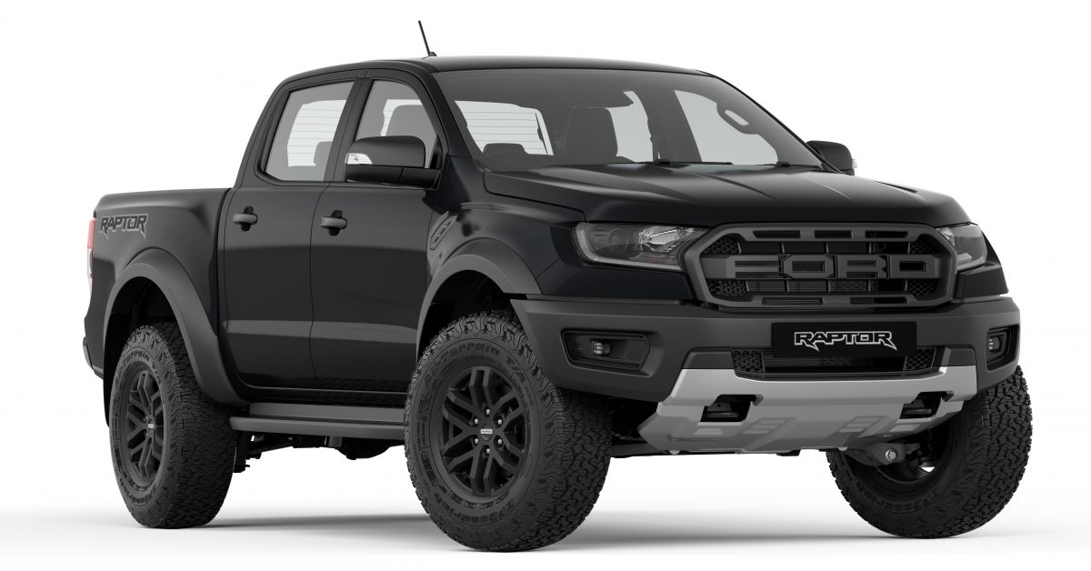 2019 ford ranger raptor now available in absolute black arctic white new colours at no extra. Black Bedroom Furniture Sets. Home Design Ideas