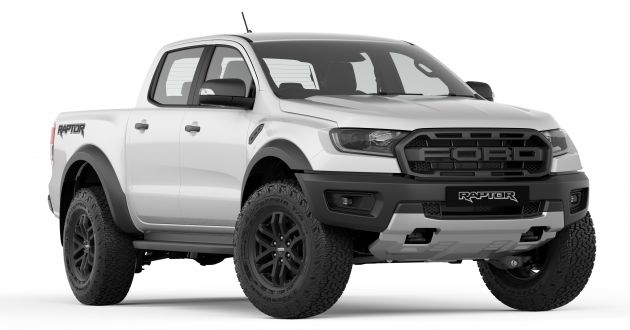 2019 Ford Ranger Raptor Now Available In Absolute Black