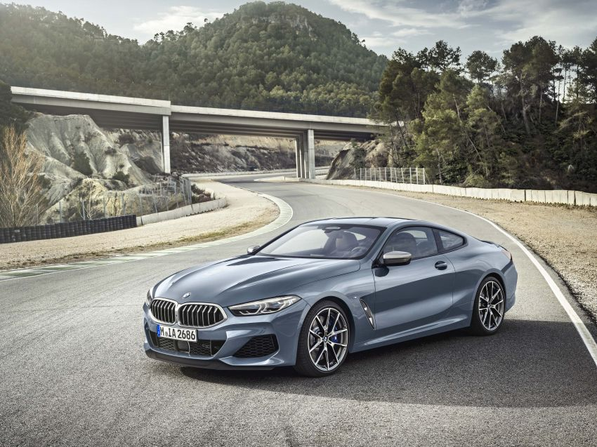 G15 BMW 8 Series launched in Malaysia – sole M850i xDrive variant; 530 PS 4.4L twin-turbo V8; RM1,088,800 Image #933507