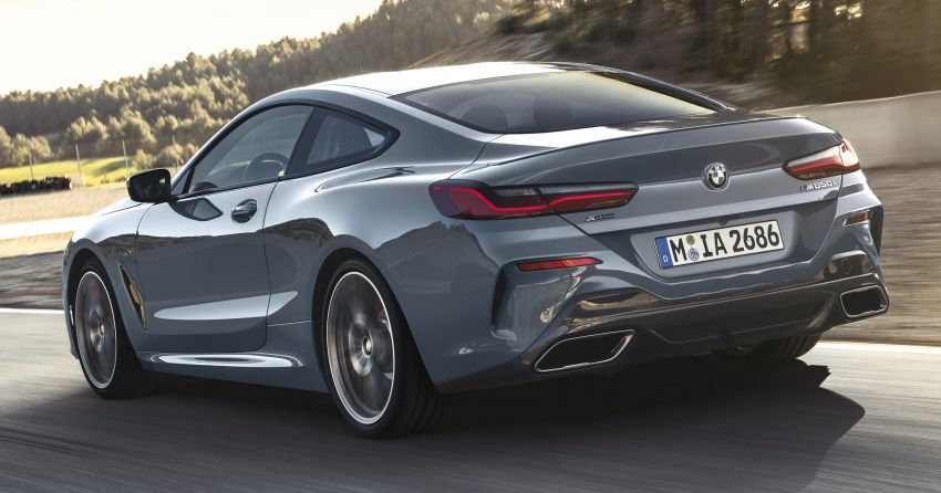 G15 BMW 8 Series launched in Malaysia – sole M850i xDrive variant; 530 PS 4.4L twin-turbo V8; RM1,088,800 Image #933510