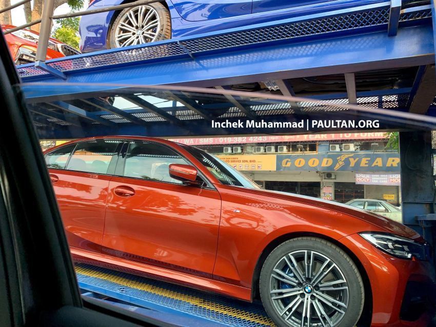 G20 BMW 3 Series spotted in Malaysia – 330i M Sport Image #936435
