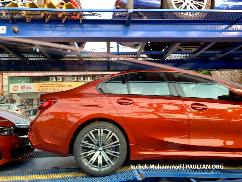 G20 BMW 3 Series spotted in Malaysia – 330i M Sport Image #936436
