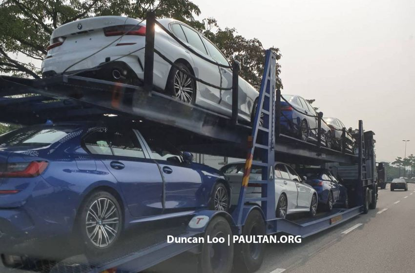 G20 BMW 3 Series spotted in Malaysia – 330i M Sport Image #936437