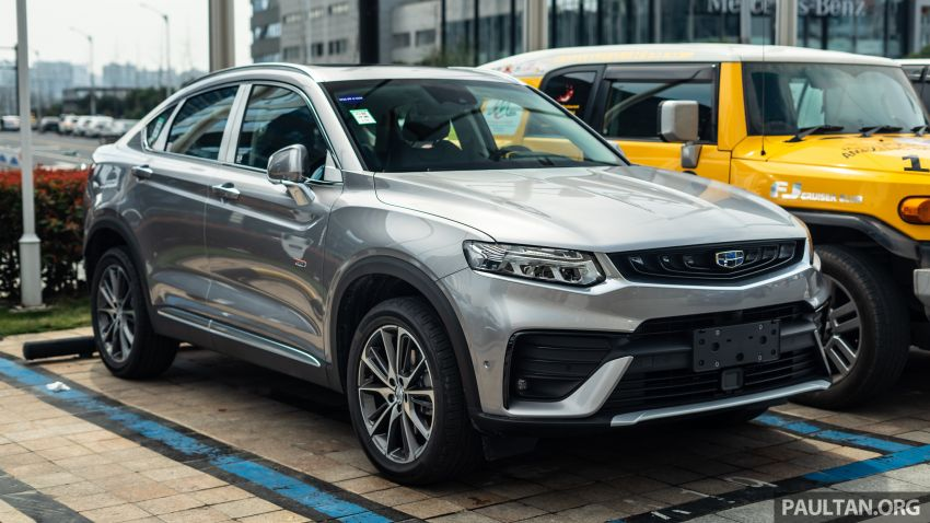 Geely FY11: CMA-based coupe SUV seen in Hangzhou Image #935670