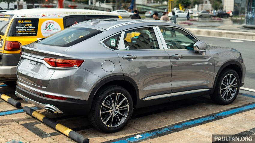 Geely FY11: CMA-based coupe SUV seen in Hangzhou Image #935671