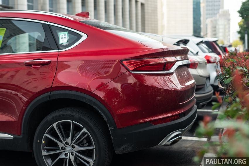 Geely FY11: CMA-based coupe SUV seen in Hangzhou Image #935675