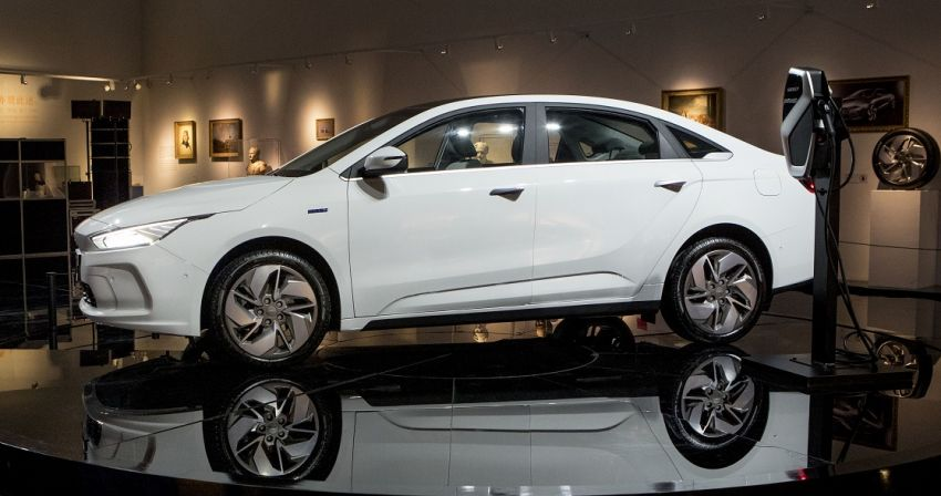 Geely GE11 electric sedan – more photos and details Image #928471