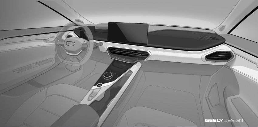 Geely GE11 electric sedan – more photos and details Image #928483