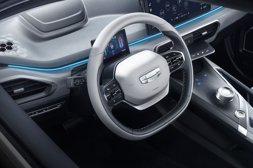 Geely GE11 electric sedan – more photos and details Image #928484