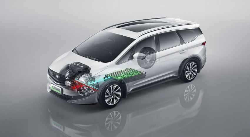 Geely Jiaji MPV launched in China – 1.5 litre and 1.8 litre T-GDI engines, mild and plug-in hybrid variants Image #934615