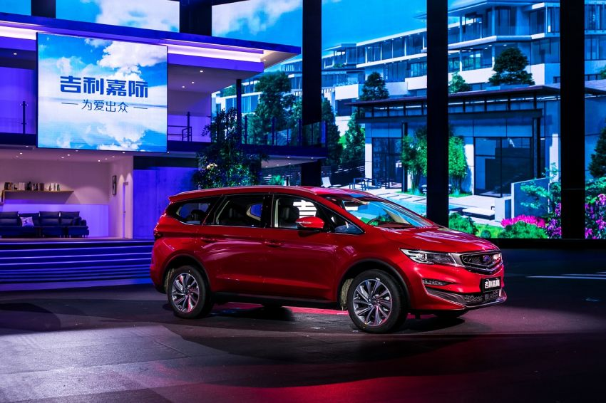 Geely Jiaji MPV launched in China – 1.5 litre and 1.8 litre T-GDI engines, mild and plug-in hybrid variants Image #934600