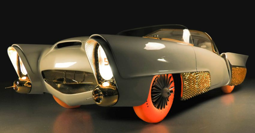 Goodyear bawa kereta autonomous tahun 50-an yang telah dipulihkan semula ke Geneva – tayar berlampu Image #932247