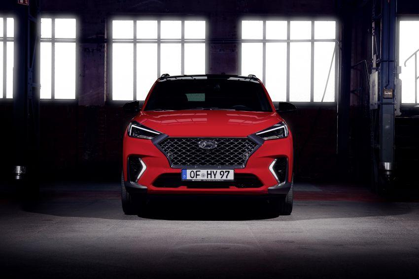 Hyundai Tucson N Line lebih garang, pilihan enjin baru Image #937348