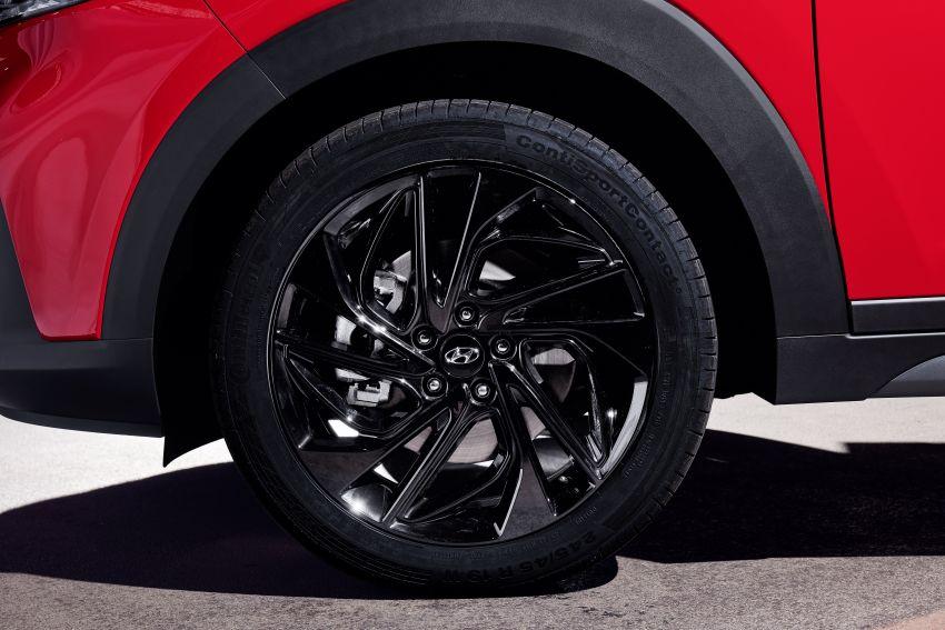 Hyundai Tucson N Line lebih garang, pilihan enjin baru Image #937352